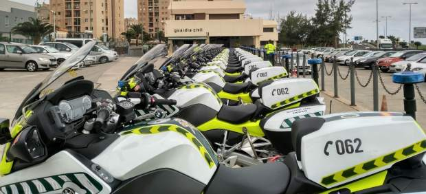 Motocicletas de la Guardia Civil