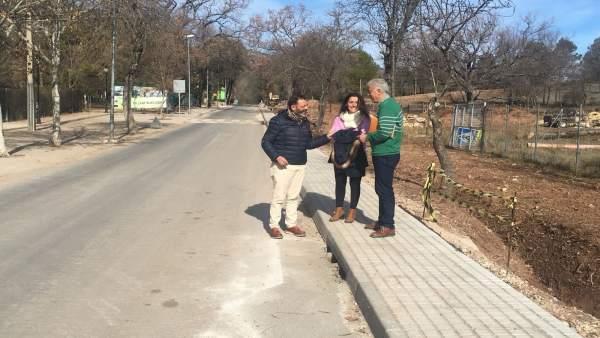 Visita a la travesía de Arroyo Frío
