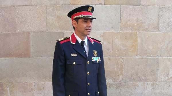 El mayor de los Mossos d'Esquadra Josep Lluís Trapero.