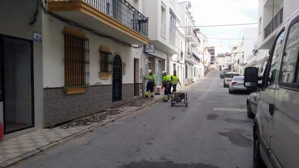 Calle Zaragoza en Estepona