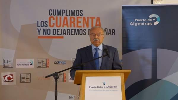 El presidente de la APBA, Manuel Morón