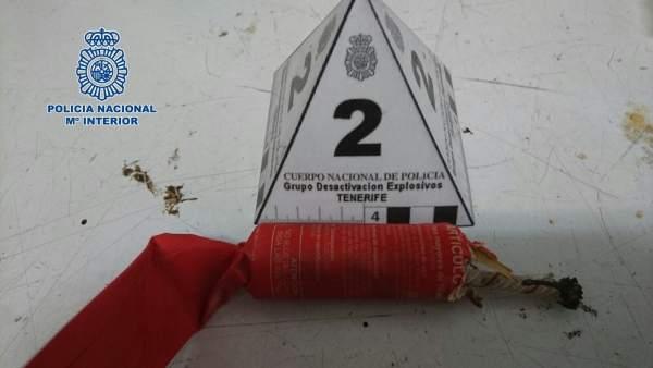 Rdo. Nota Prensa Detenido Vdg. Santa Cruz De Tfe.
