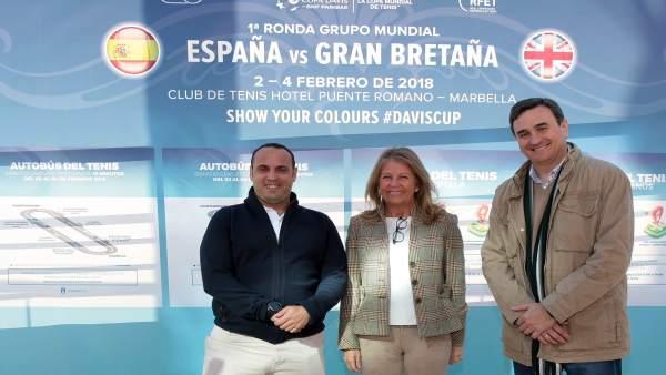 Muñoz presenta plan de movilidad por la Copa Davis