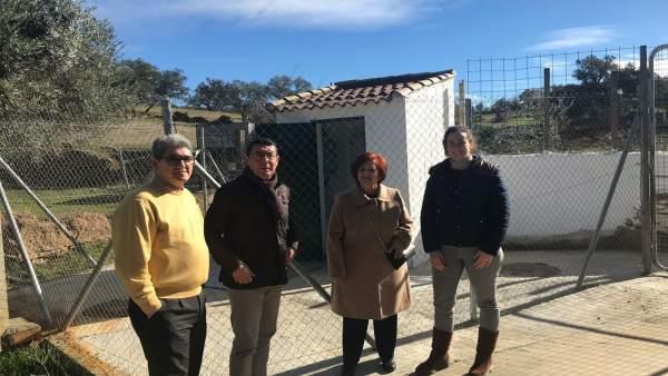Mejoran la estación de bombeo de agua residual de Santa Bárbara de Casa.