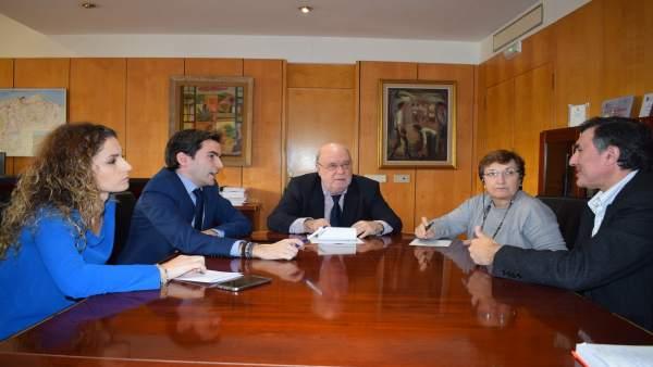 Reunión PSOE sobre MUPAC