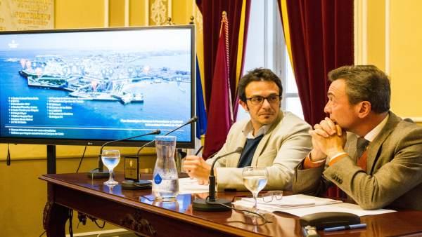 El alcalde de Cädiz y el rector de la UCA