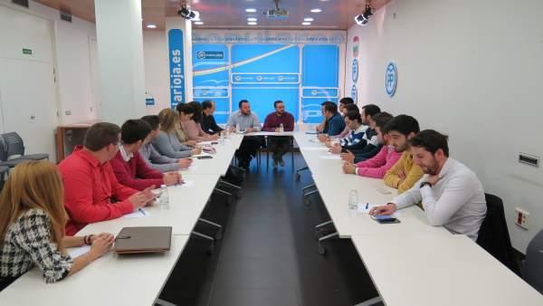 Reunión Comité Ejecutivo Regional de Nuevas Generaciones