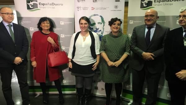 Valladolid.- Momentos previos a la entrega del Miguel Delibes de Periodismo
