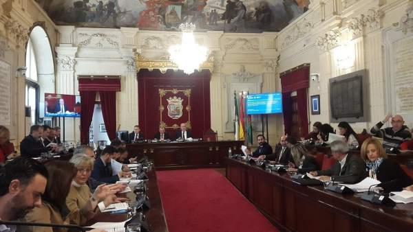 Pleno de Málaga. Diciembre de 2017