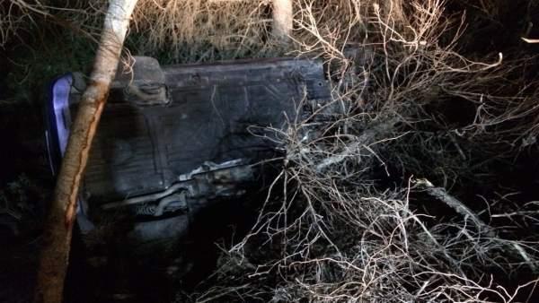 Rescatades dos dones després de caure el seu vehicle per un terraplé a Orihuela Costa (Alacant)