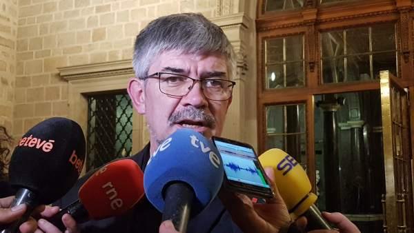 El concejal de Barcelona Agustí Colom.