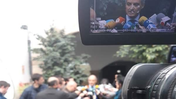 """Camps no se n'anirà del CJC i diu que """"no té sentit"""" que Les Corts parlen d'ell nou anys després de dimitir"""