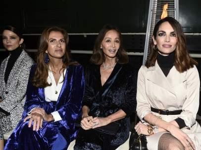 El 'Front Row' de la Fashion Week