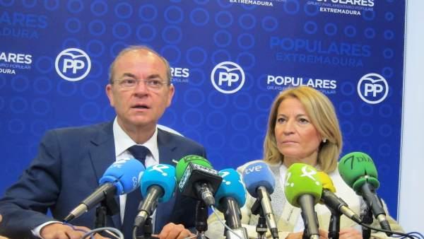Presidente del Partido Popular de Extremadura, José Antonio Monago