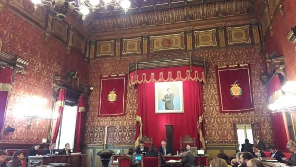 Pleno del Ayuntamiento de Tarragona