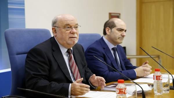 Juan José Sota y José Manuel Callejo . Imagen de archivo