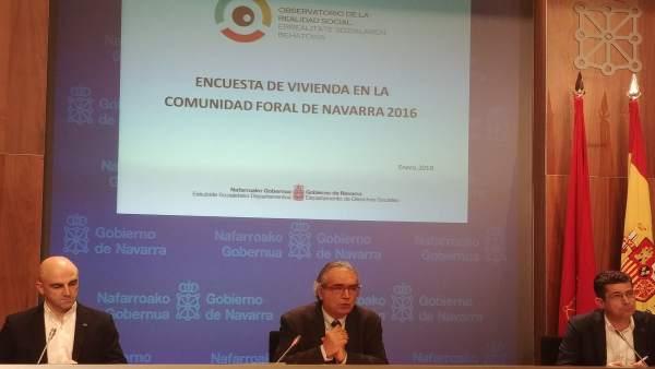 Presentación de informe de la encuesta de vivienda en Navarra 2016