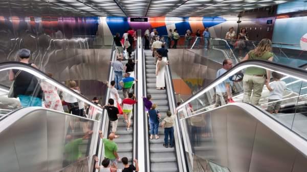Estación de La Sagrera del Metro de Barcelona