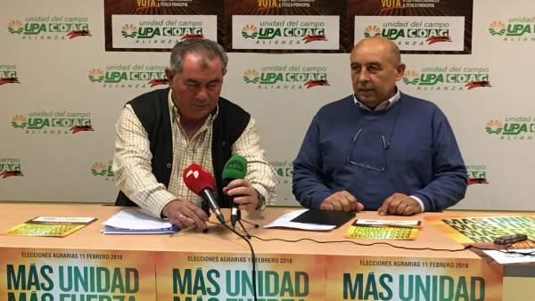 Valladolid.- Aurelio González y Aurelio Pérez