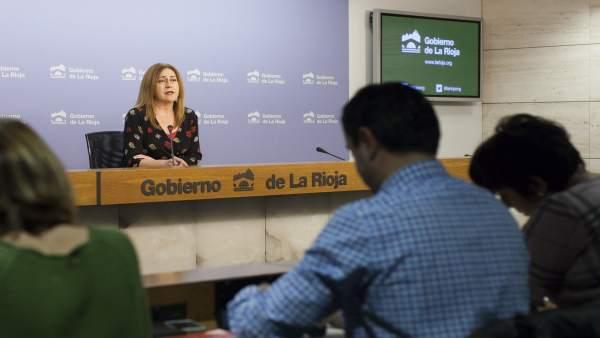 Martínez Arregui, en la rueda de prensa