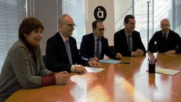 La CVMC firma la seua incorporació a la FORTA