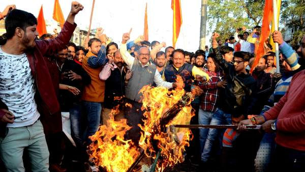 India Protestas película 'Padmaavat'