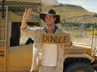 Chris Hemsworth en 'Dundee'