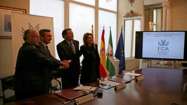 Uca, Apbc Y Apba Renuevan Su Cooperación A Través Del Máster En Gestión Portuari