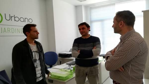 [L Comunicacion.Almeria.Dgob] Nota De Prensa Y Foto Visita Delegado Cade Huércal