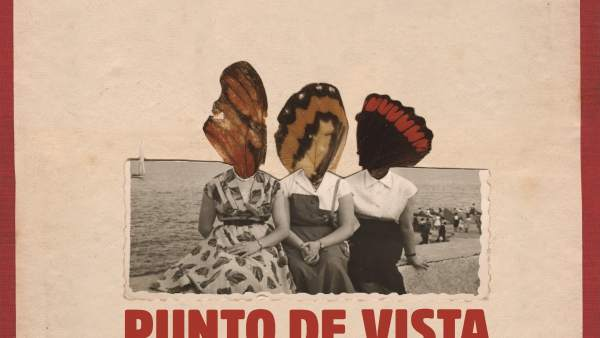 Cartel anunciador de la XII edición del Festival Internacional Punto de Vista.
