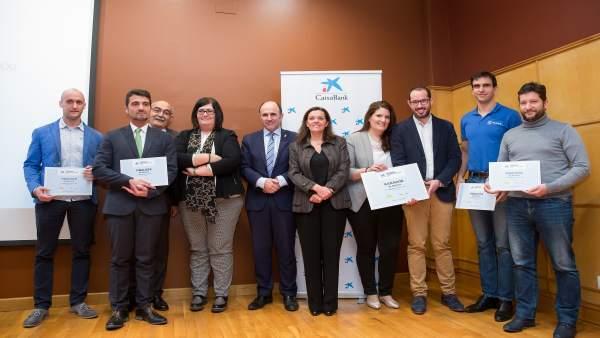 Entrega de los Premios EmprendedorXXI de CaixaBank.