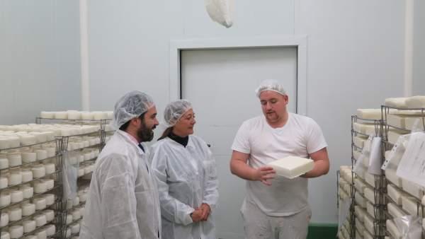 Lacteos argudo málaga campillos quesos quesería sabor florido producción cabras