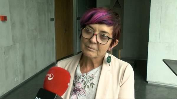 Tere Sáez, parlamentaria de Podemos.