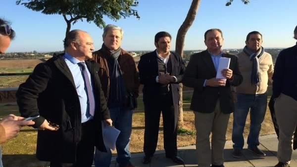El portavoz del PP en el Ayuntamiento de Aljaraque, David Toscano.
