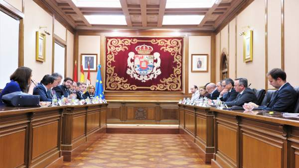 Mesa del ferrocarril en Ávila