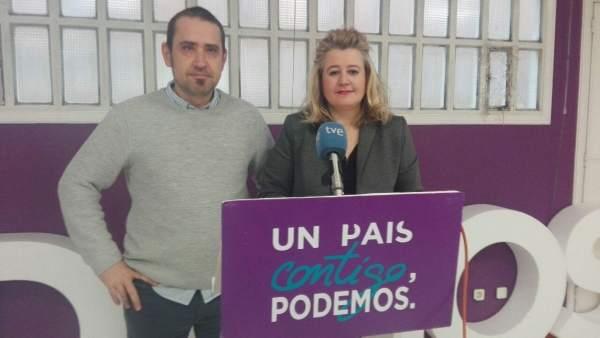 Kiko Garrido y María José Dueñas