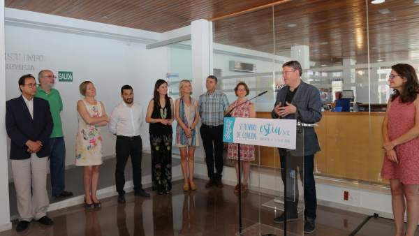 Seminario de Torrevieja con los miembros del Consell