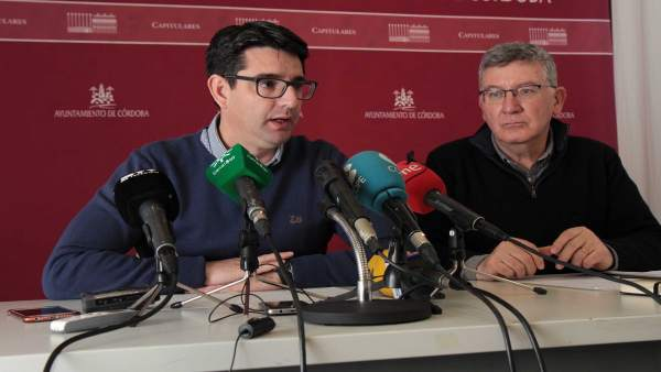 Pedro García con Emilio García