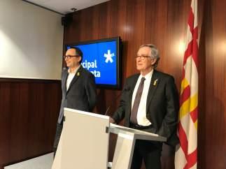 Xavier Trias y Jaume Ciurana