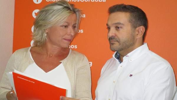 Marcial Gómez e Isabel Albás