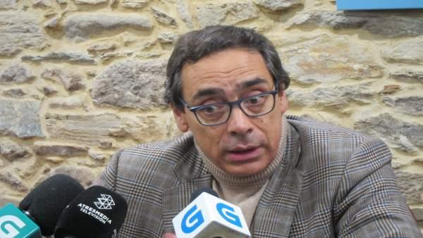 Antón Arias, expresidente de la CEG