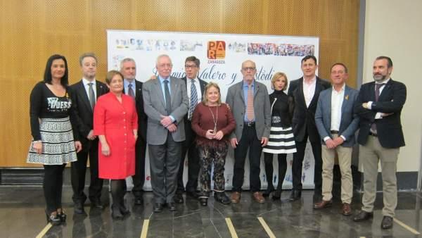 Premios Valero y Custodio del PAR Zaragoza