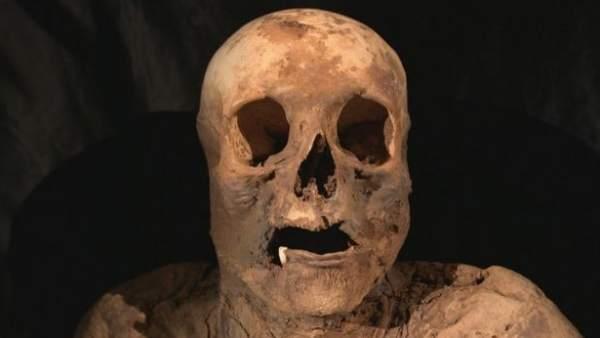 Momia de la antepasada de Johnson