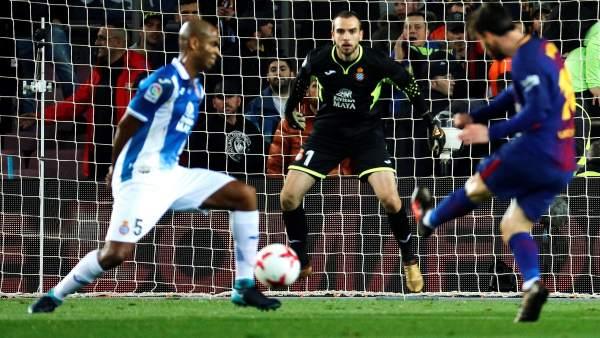 Gol de Messi al Espanyol