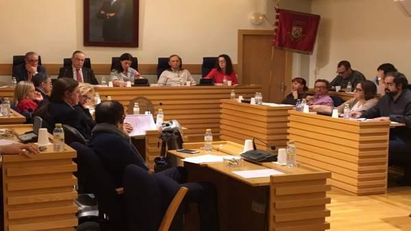 Pleno en el Ayuntamiento de Ciudad Real