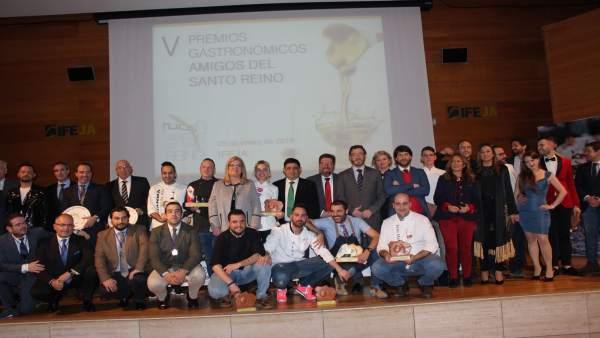 Entrega de Premios 'Amigos del Santo Reino' en Jaén