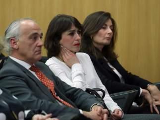 Juana Rivas, ayer en Madrid