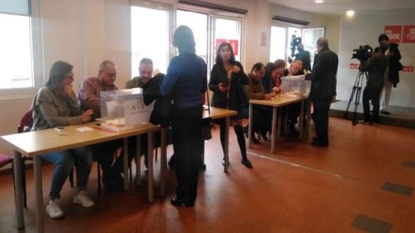 Votaciones para elegir al secretario del PSOE de Las Palmas de Gran Canaria