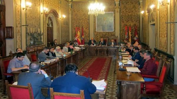 Pleno de la Diputación de Salamanca