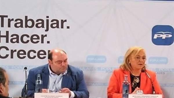 Agustín Iglesias Caunedo y Mercedes Fernández.